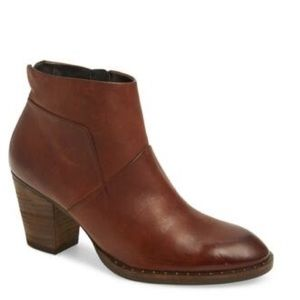 New Paul Green Stella short brown ankle boots 7.5